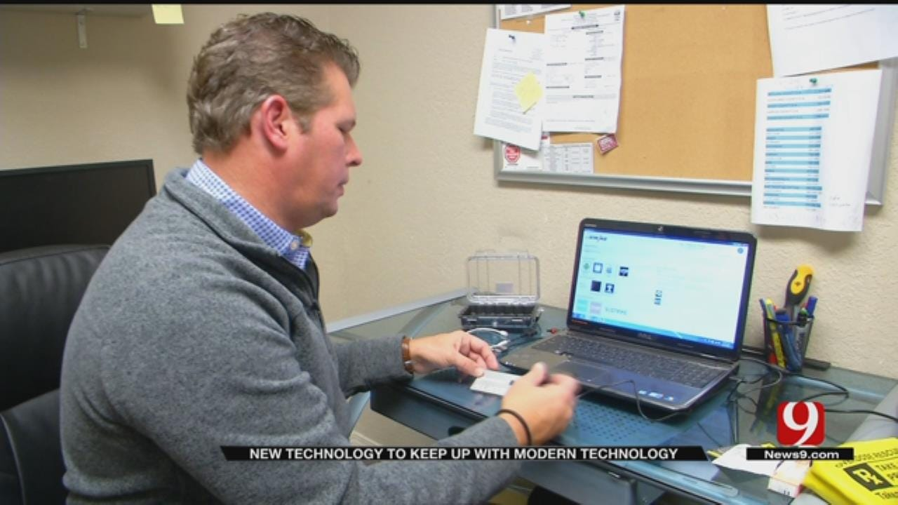 Blanchard Police Technology
