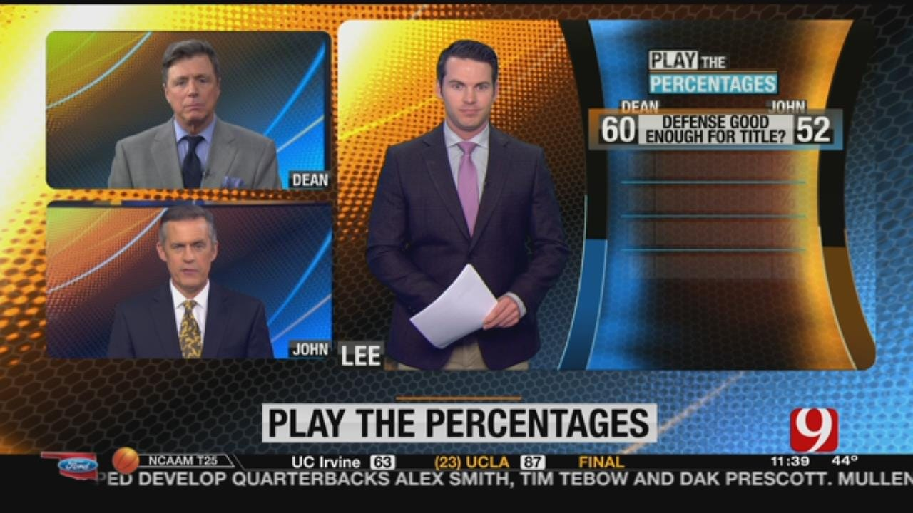 Play The Percentages: Nov. 26