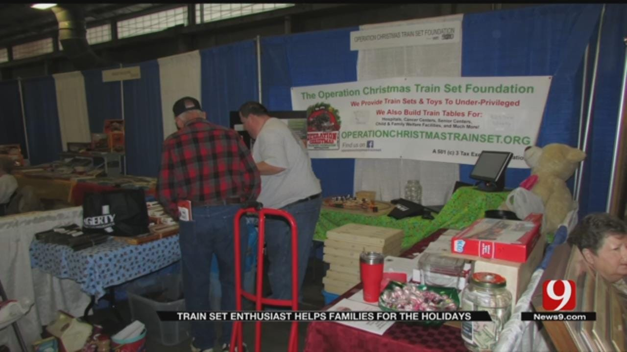 Model Train Enthusiast Gives Back To Oklahoma Children