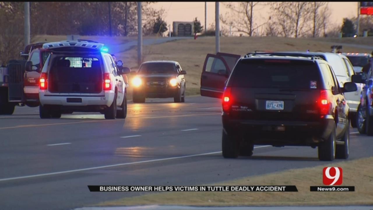 Elderly Couple Killed In Tuttle Two-Car Wreck