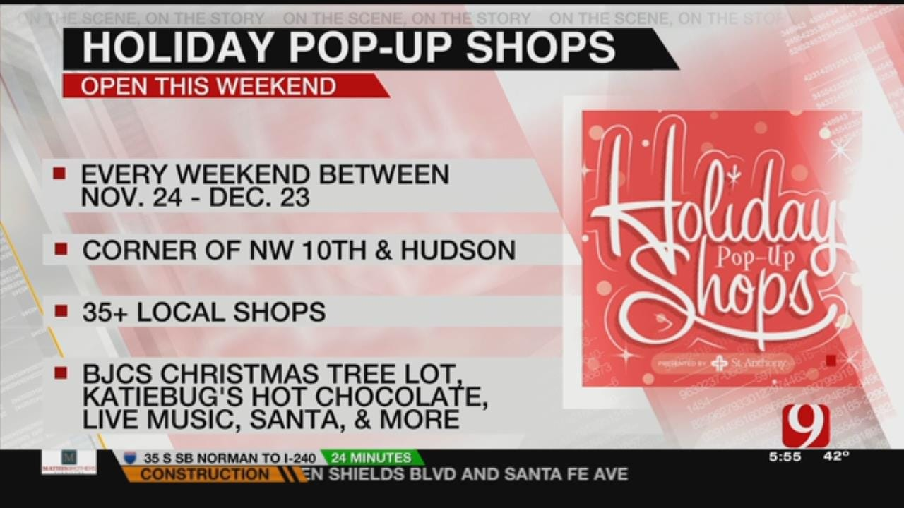Holiday Pop-Up Shops Return To Midtown