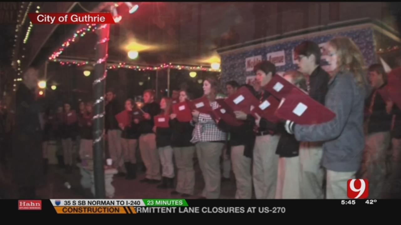 Guthrie Dives Headfirst Into Christmas Season