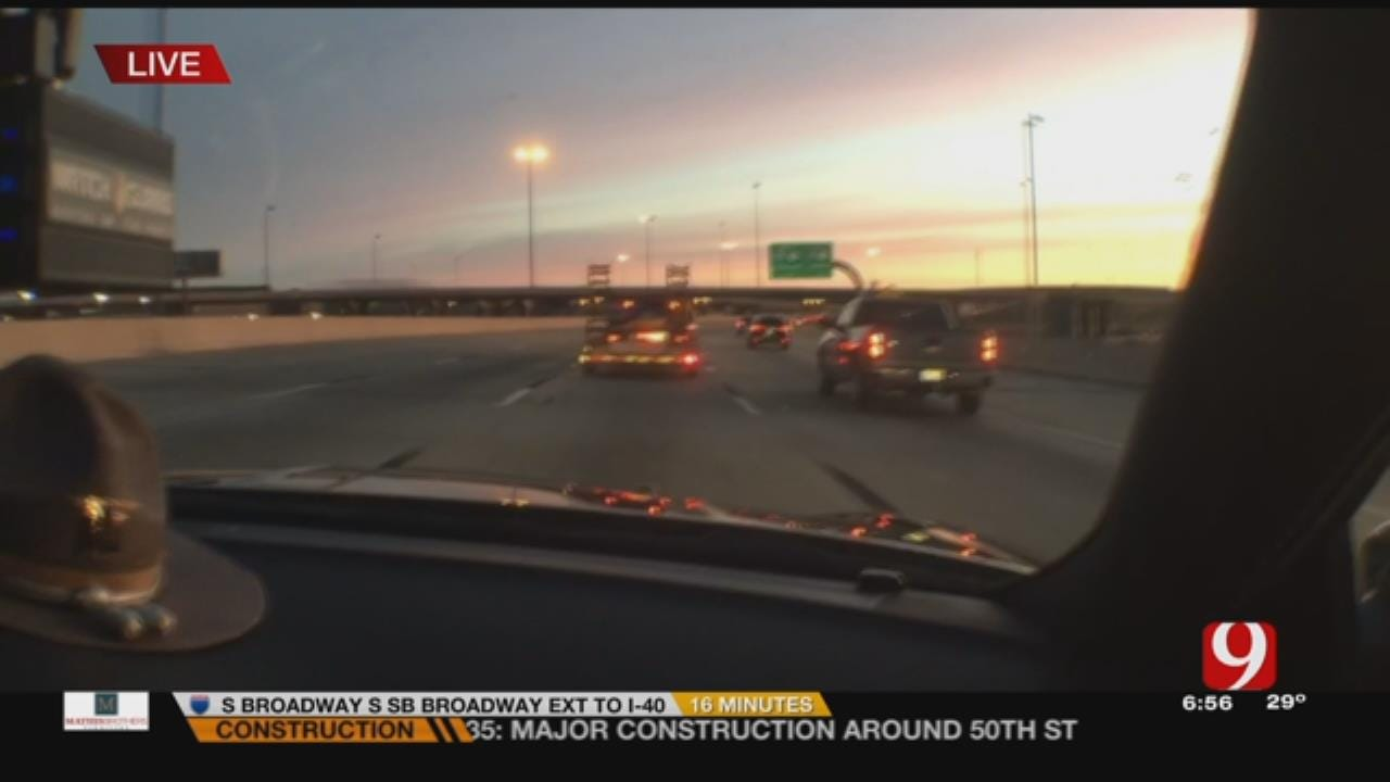 News 9 Rides Along With OHP