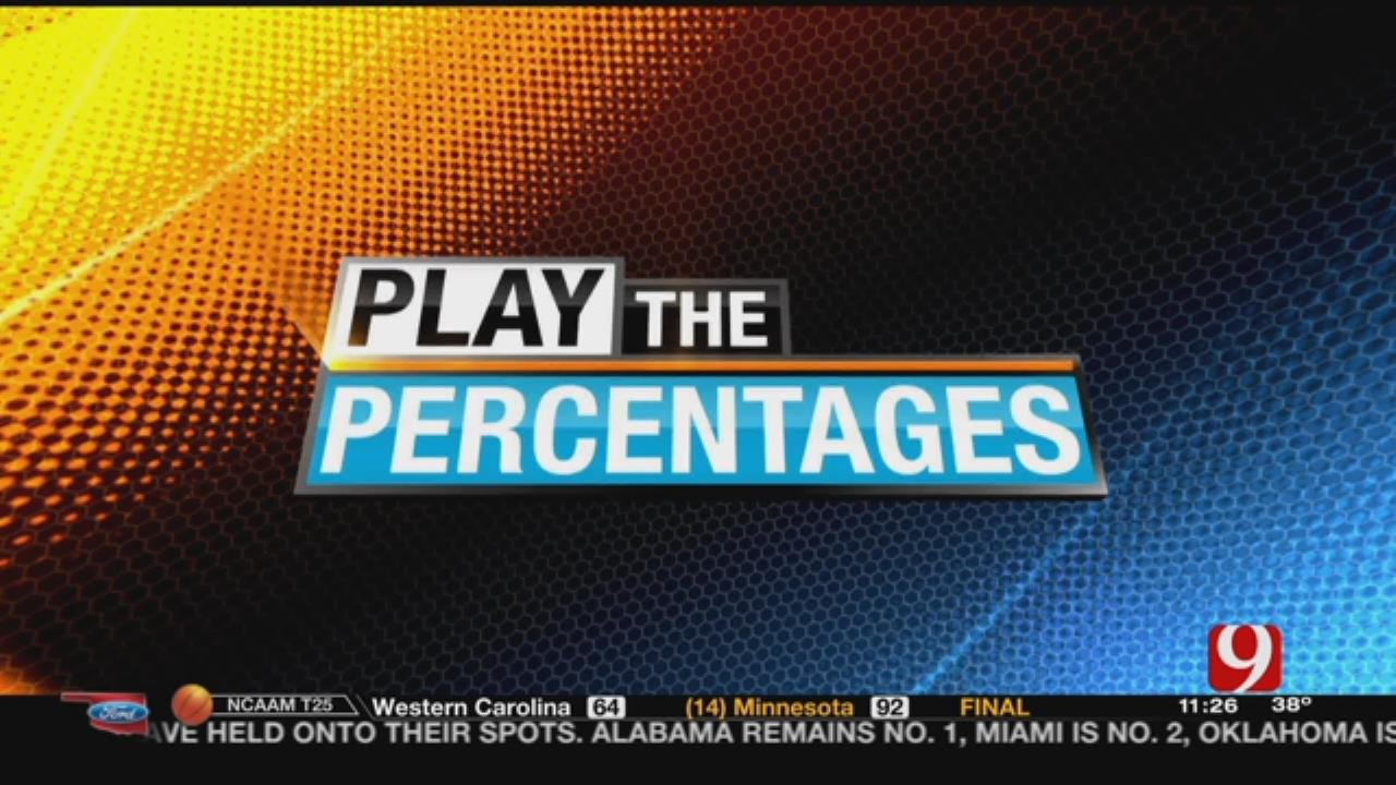 Play The Percentages: November 19