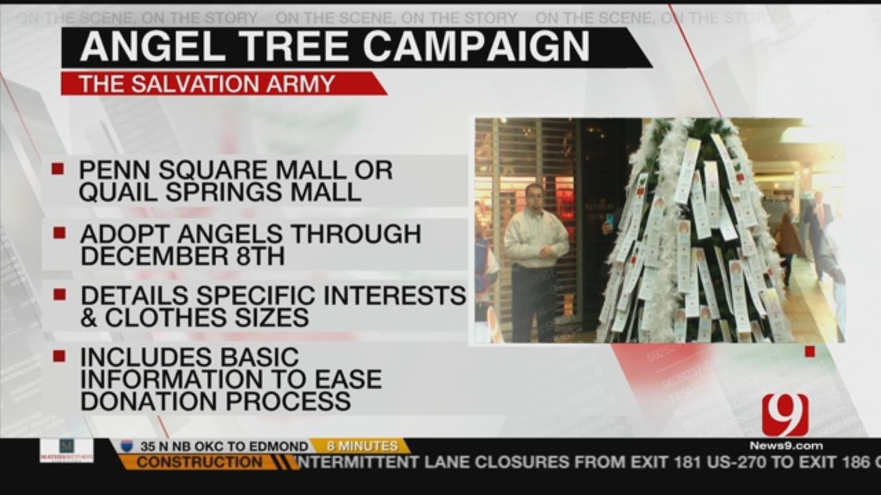 Salvation Army Kicks Off Angel Tree Program