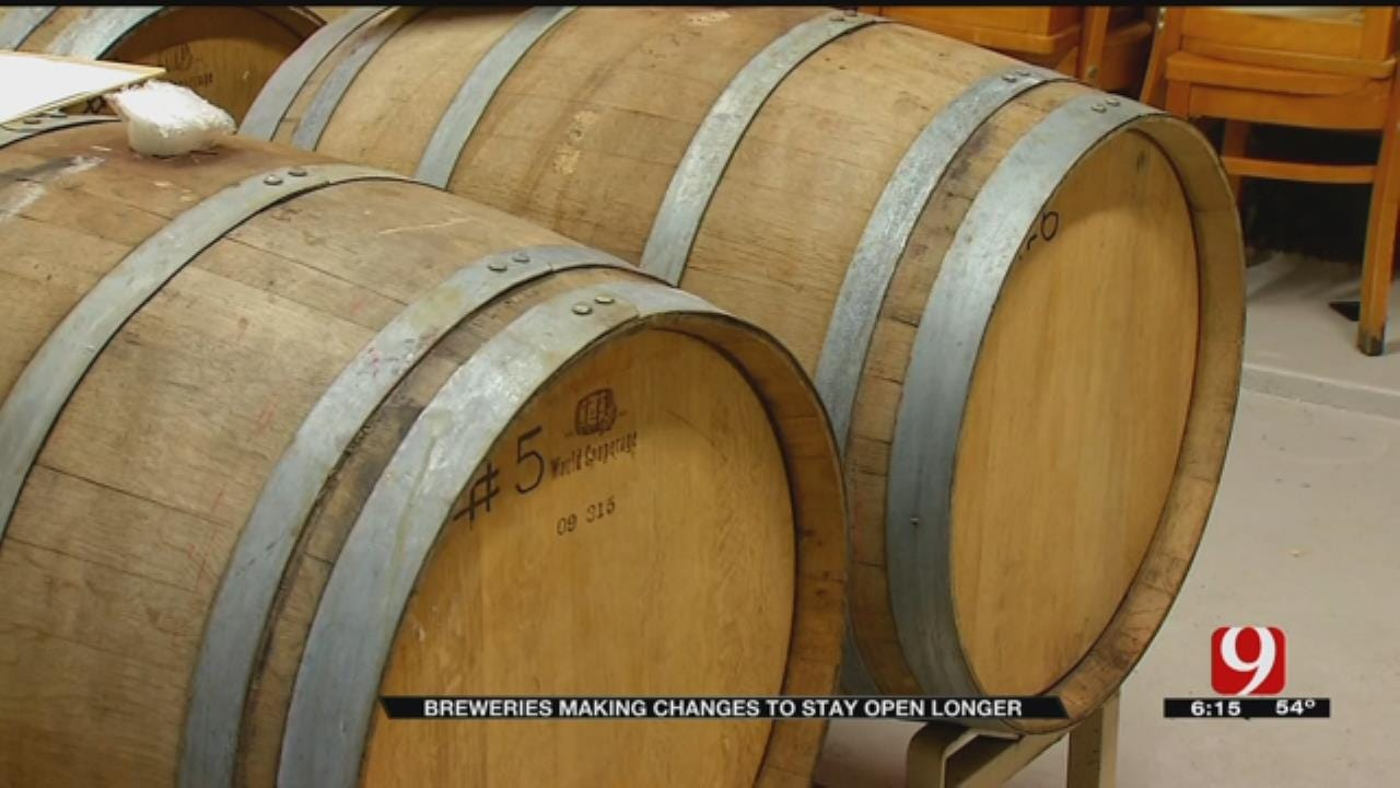 Oklahoma Breweries Making Changes To Stay Open Later