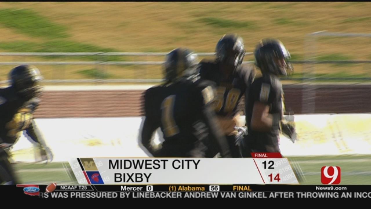 Midwest City 12 vs. Bixby 14