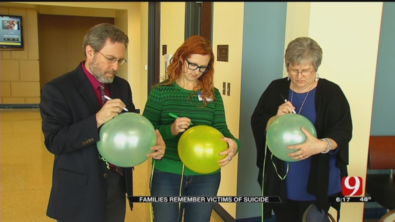 Survivors Of Suicide Loss Gather In Edmond