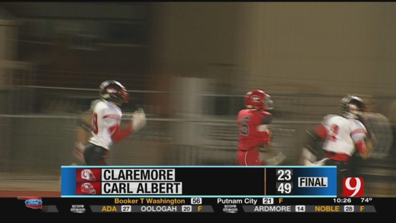 Claremore 23 at Carl Albert 49