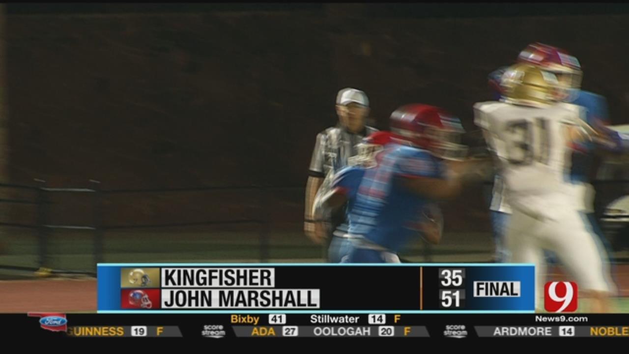 Kingfisher 35 at John Marshall 51