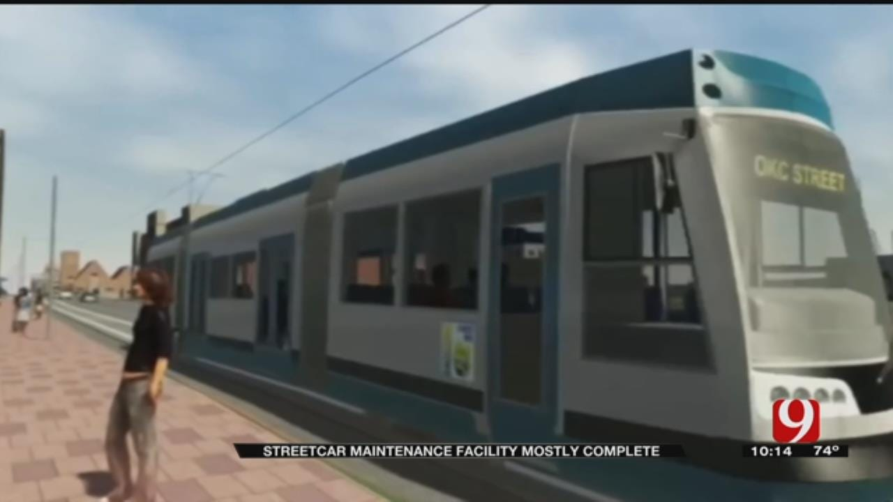 City Reveals New Streetcar Maintenance Facility