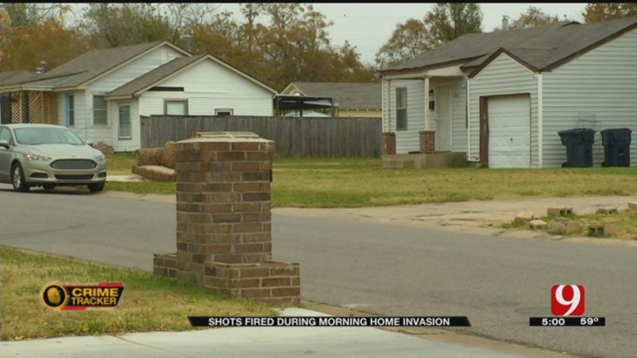 Family Robbed At Gunpoint Inside Their Home In SW OKC