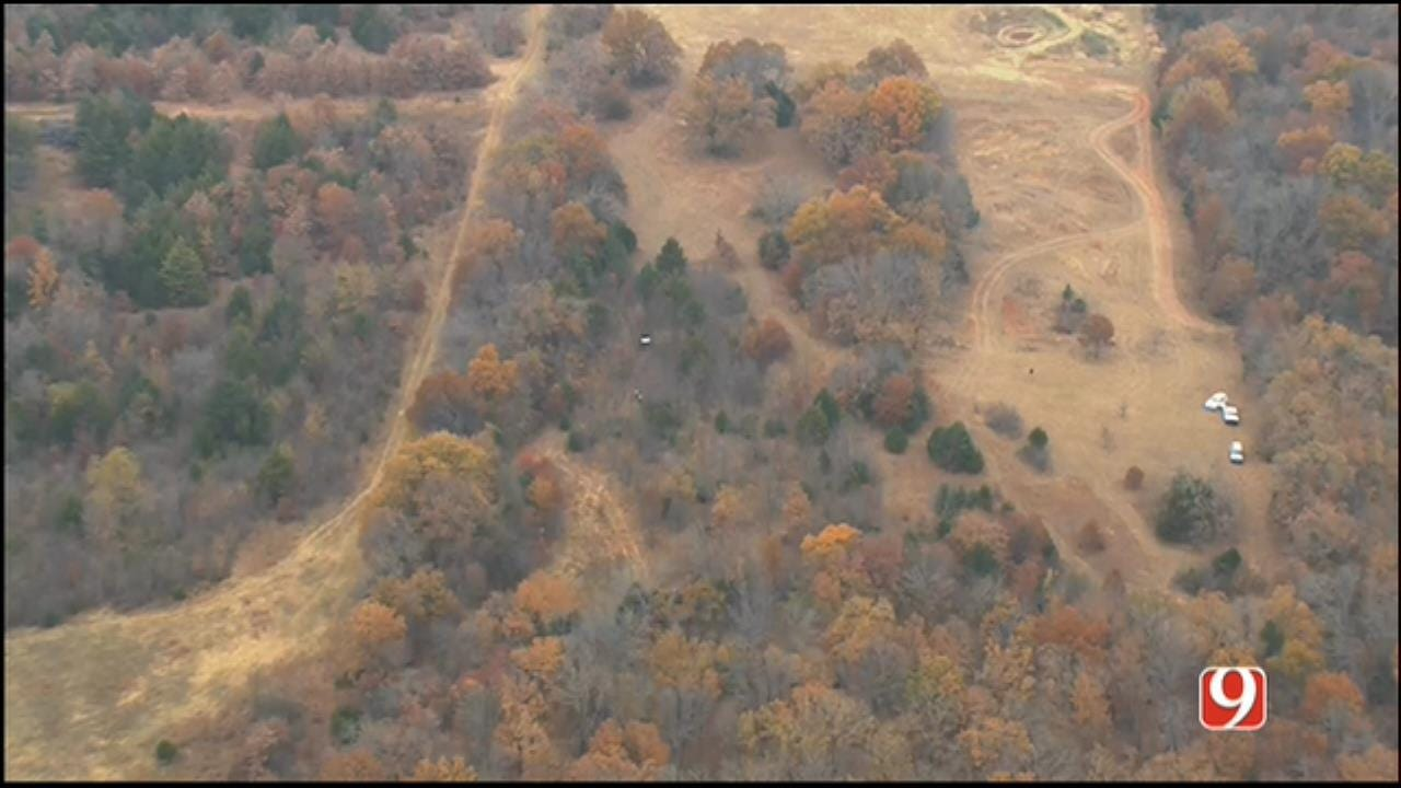 WEB EXTRA: SkyNews 9 Flies Over Manhunt In Rural Pott. County