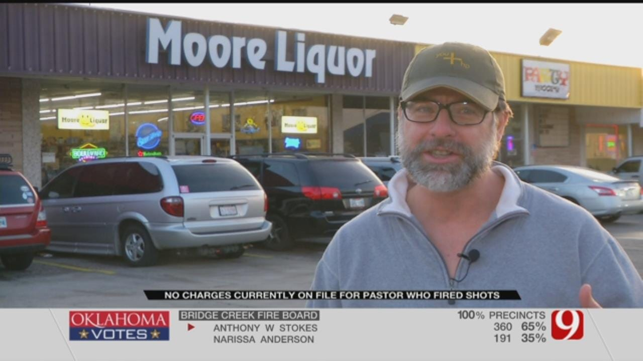 Moore Liquor Store Offers Pastor Bottle of Whiskey For Role In High-Speed Chase
