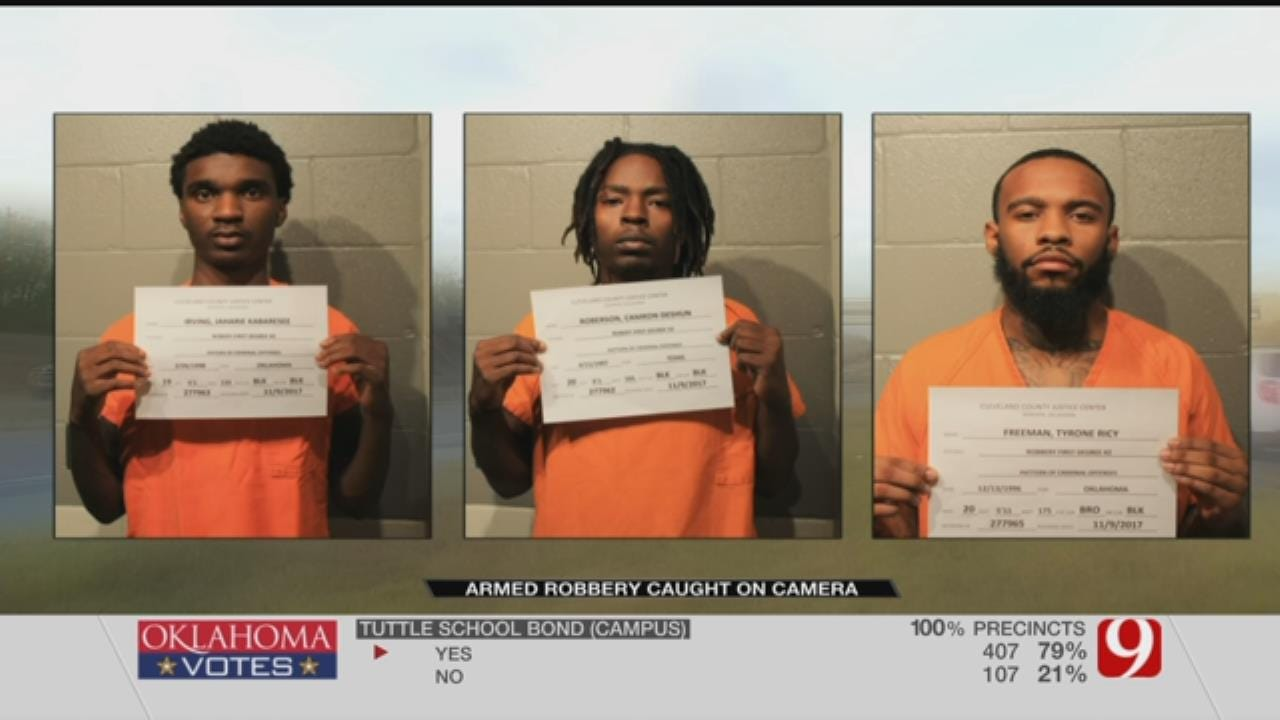 Suspects Arrested For Back-To-Back Armed Robberies