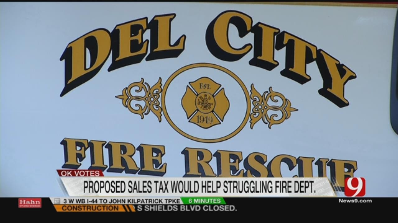 Del City Officials Hope Residents Pass Tax Increase For Public Safety
