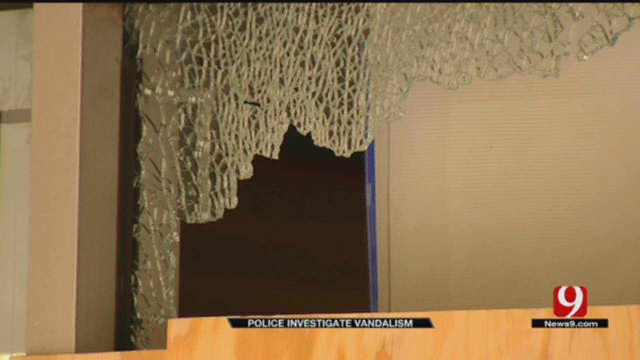 Several Businesses Vandalized in NW OKC