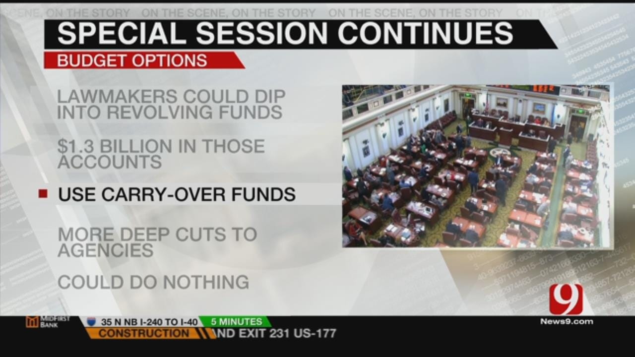 Lawmakers Continue Debate For Budget Solution