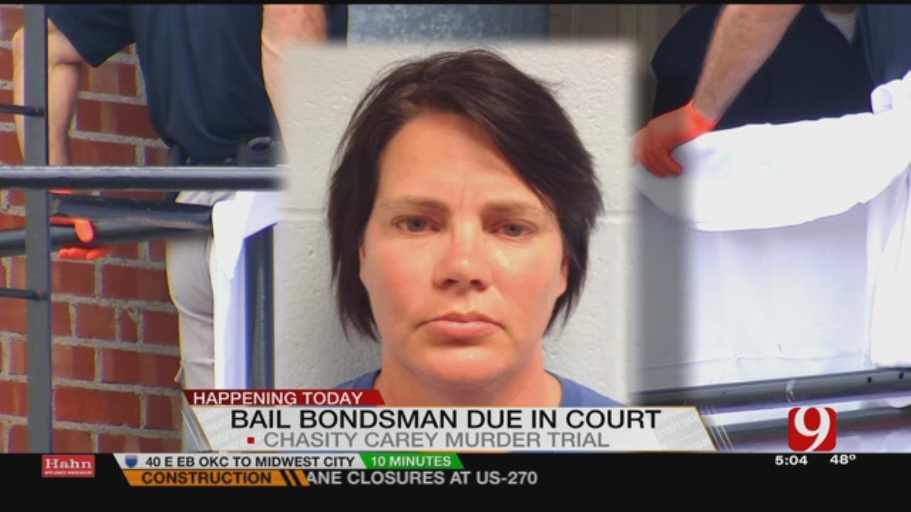 Bail Bondholder Scheduled To Be In Court Monday
