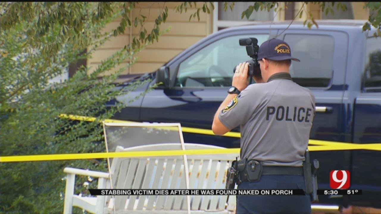 Naked Man Fatally Stabbed Sunday In NE OKC