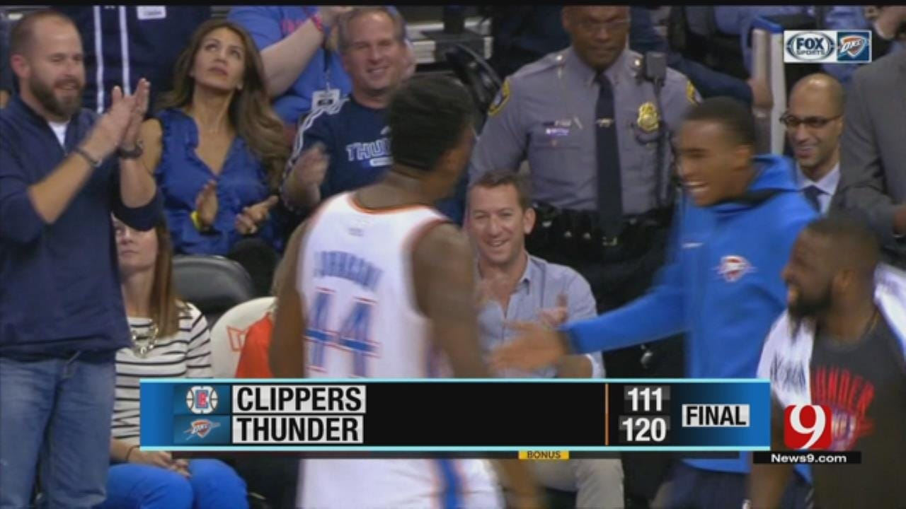 George Scores 42, Thunder Beat Clippers To Snap 4-Game Skid