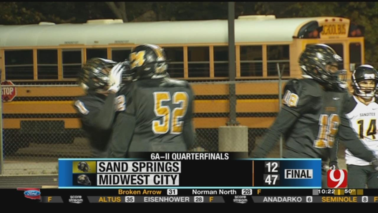 Sand Springs 12 at Midwest City 47