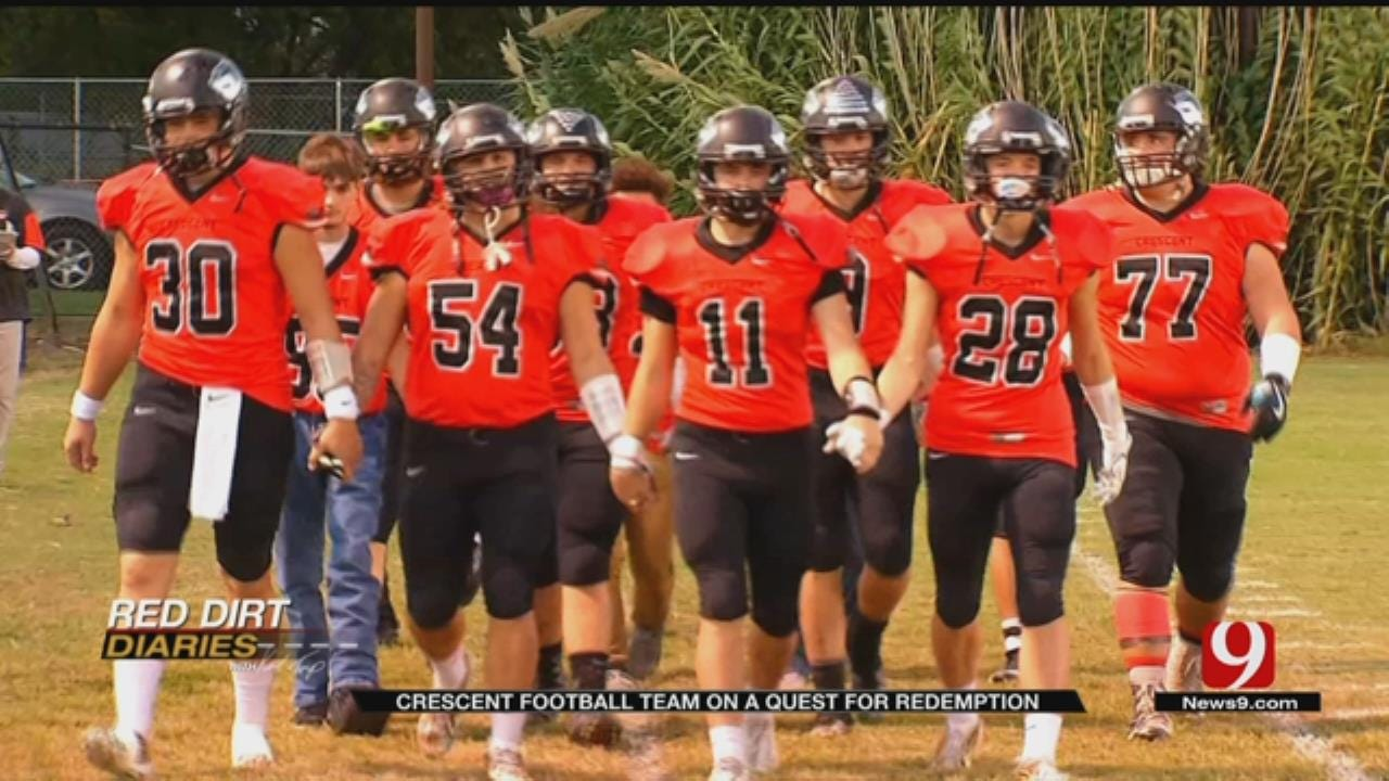 Red Dirt Diaries: Football Redemption in Crescent