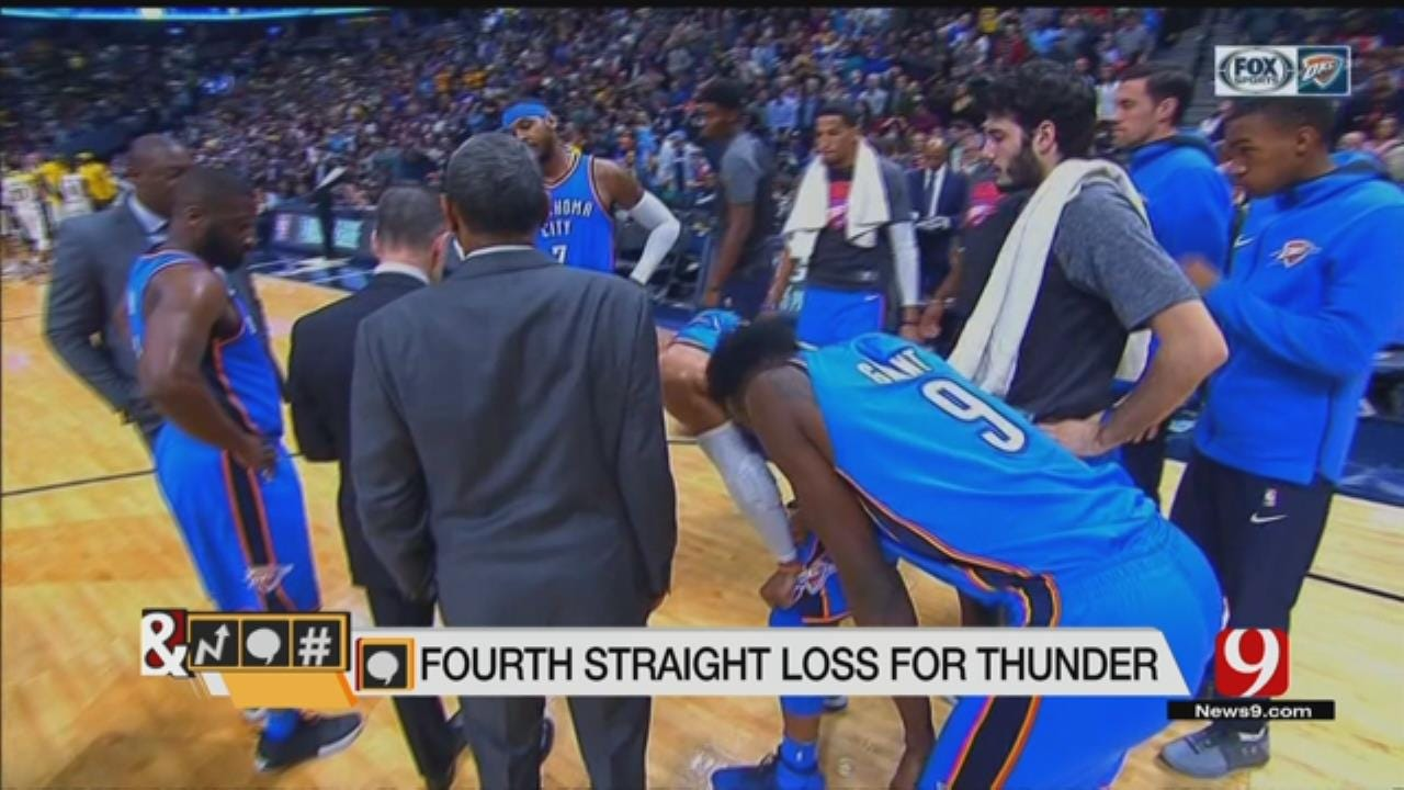 Trends, Topics & Tags: Should Thunder Fans Be Worried