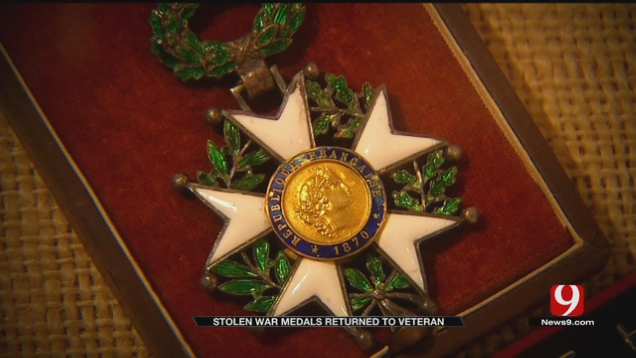 Stolen Medals Returned To MWC WWII Vet
