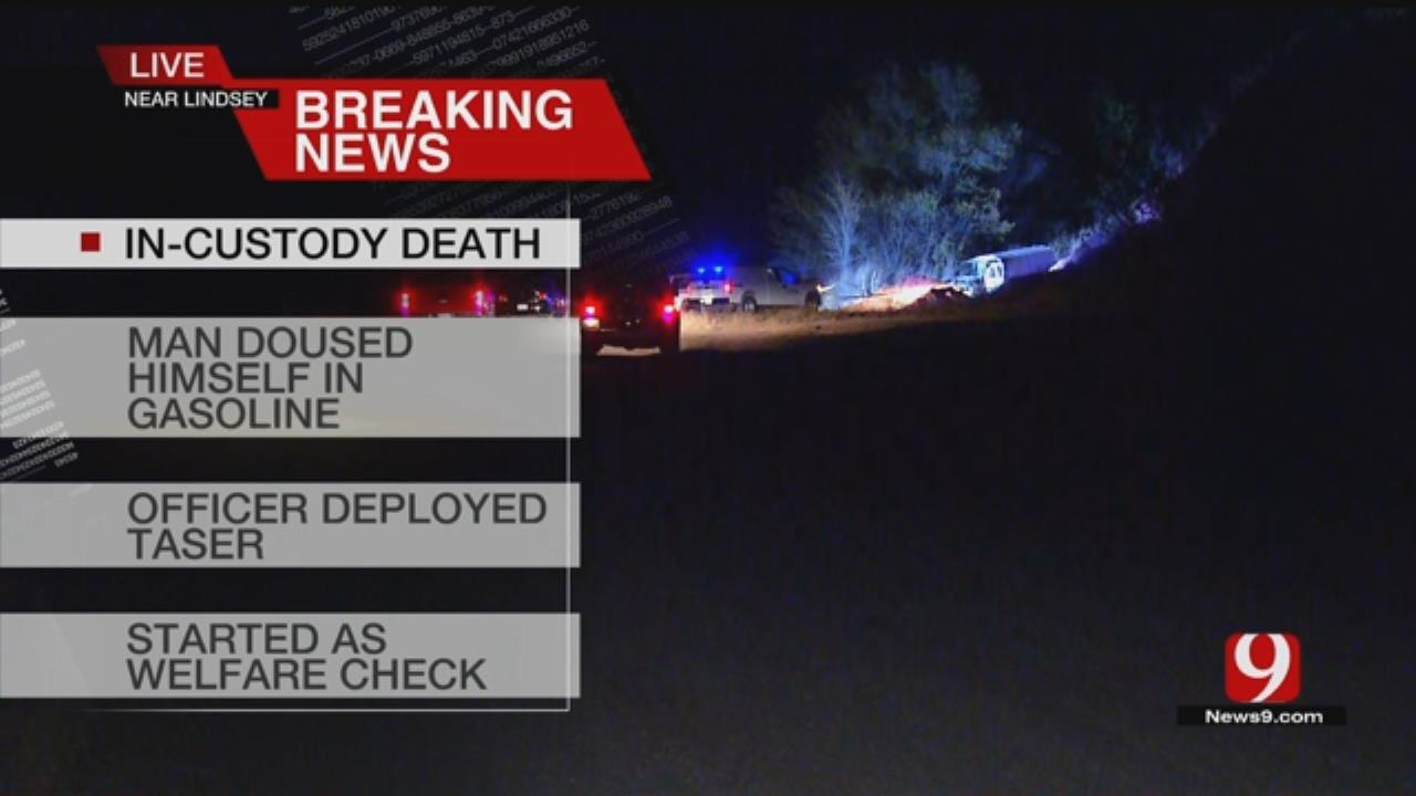 OSBI Investigating 'In-Custody Death' Near Lindsay