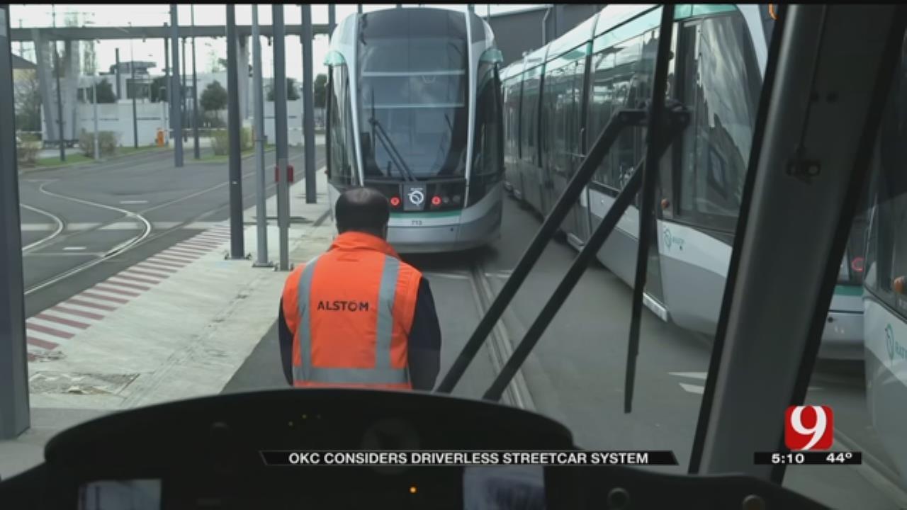 OKC Pushes For Driverless Streetcar Pilot Program