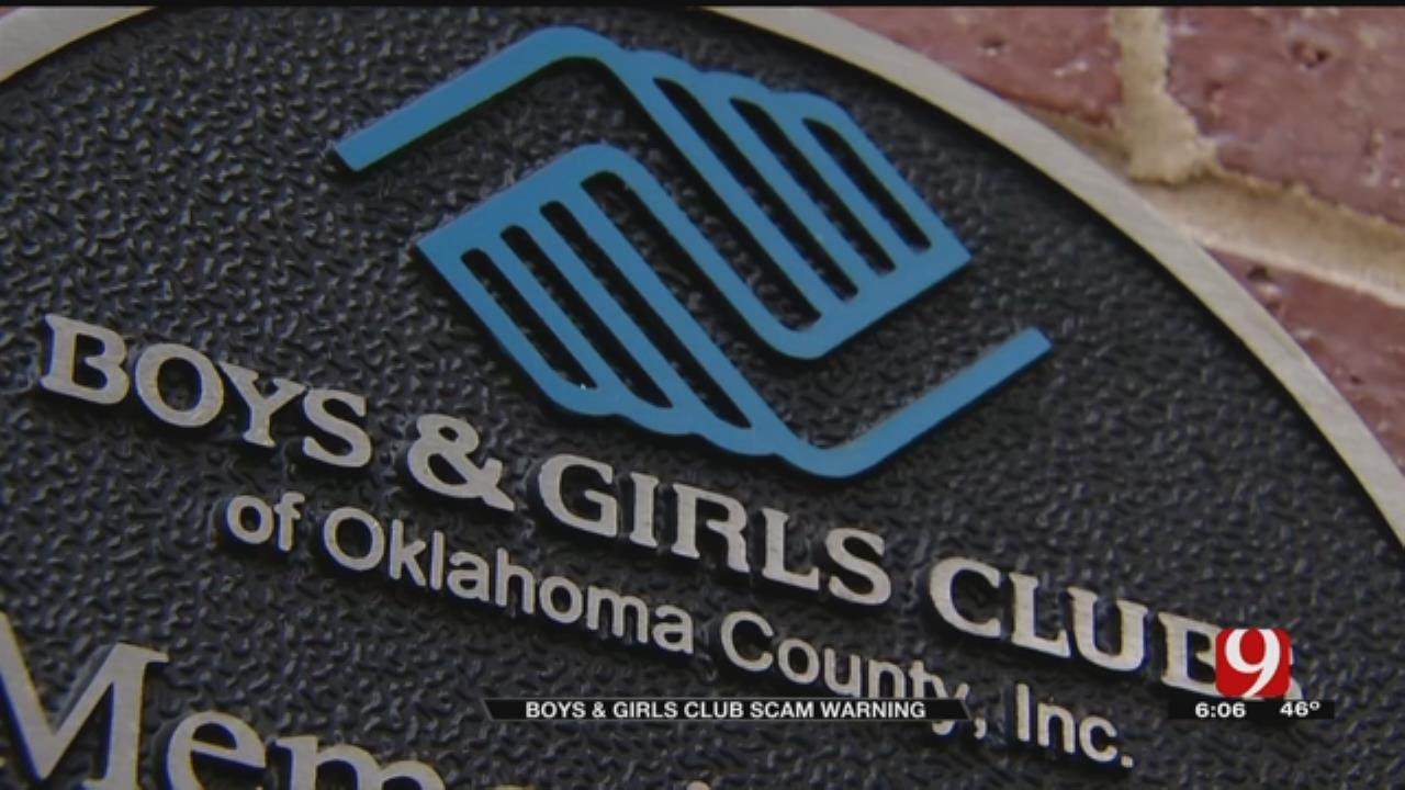 Boys & Girls Club Scam Warning