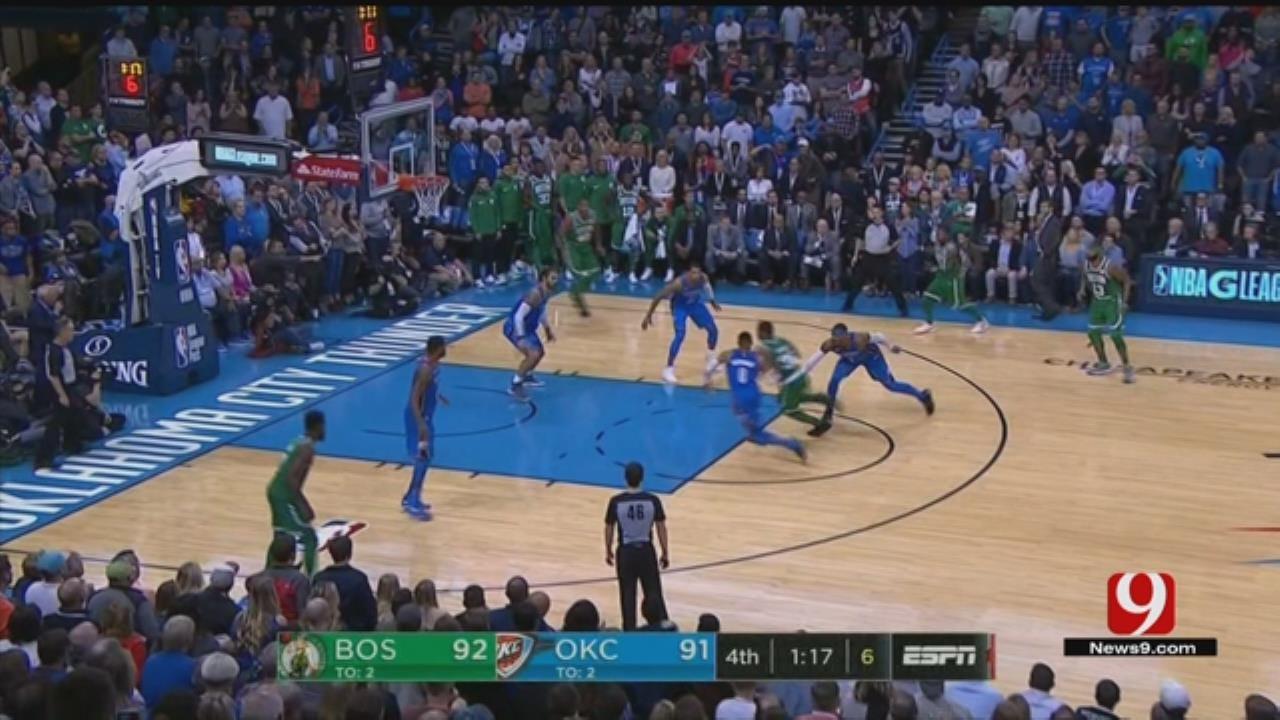 Thunder Vs. Celtics