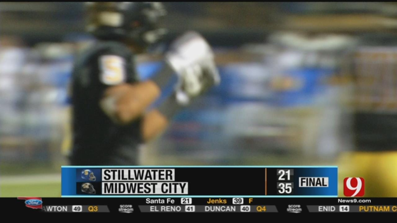 Stillwater 21 at Midwest City 35