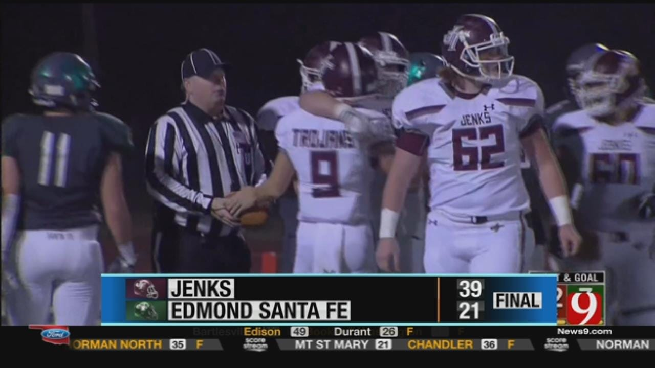 Jenks 39 at Edmond Santa Fe 21