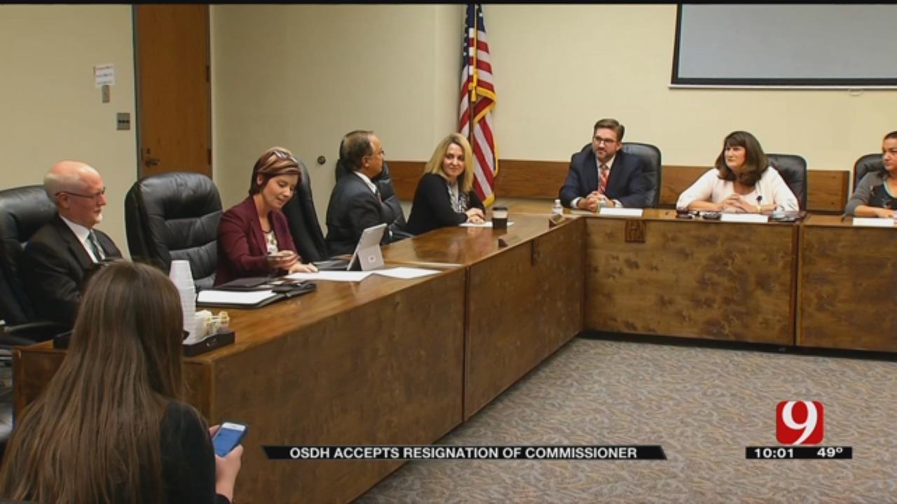 OSDH Commissioner Resigns