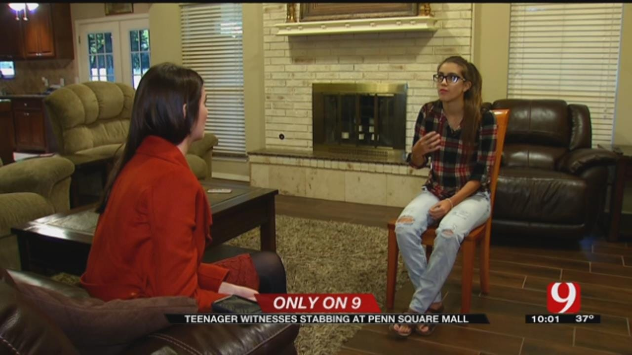 Teen Witnesses Violent Fight At Penn Square Mall