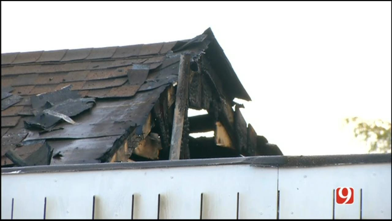 WEB EXTRA: Firefighters Battle House Fire In SW OKC
