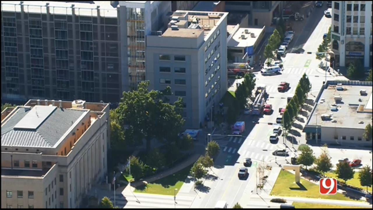 Downtown OKC Building Partially Evacuated As Occupants Feel Ill