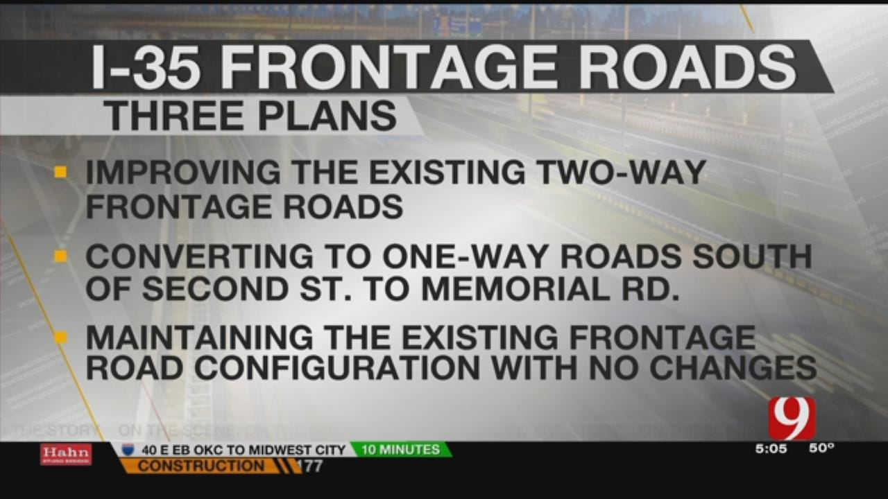 Public Meeting Scheduled To Discuss I-35 Frontage Roads In Edmond