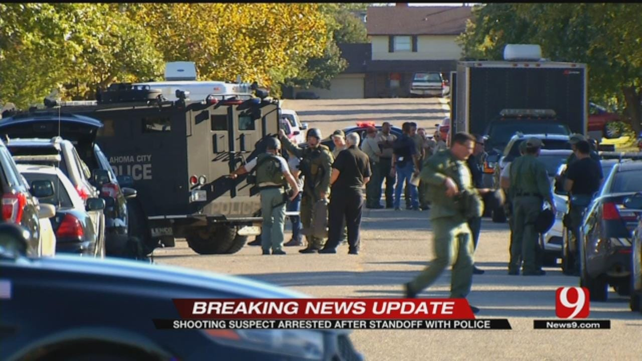 Suspect Arrested After Standoff With Police In NW OKC Neighborhood