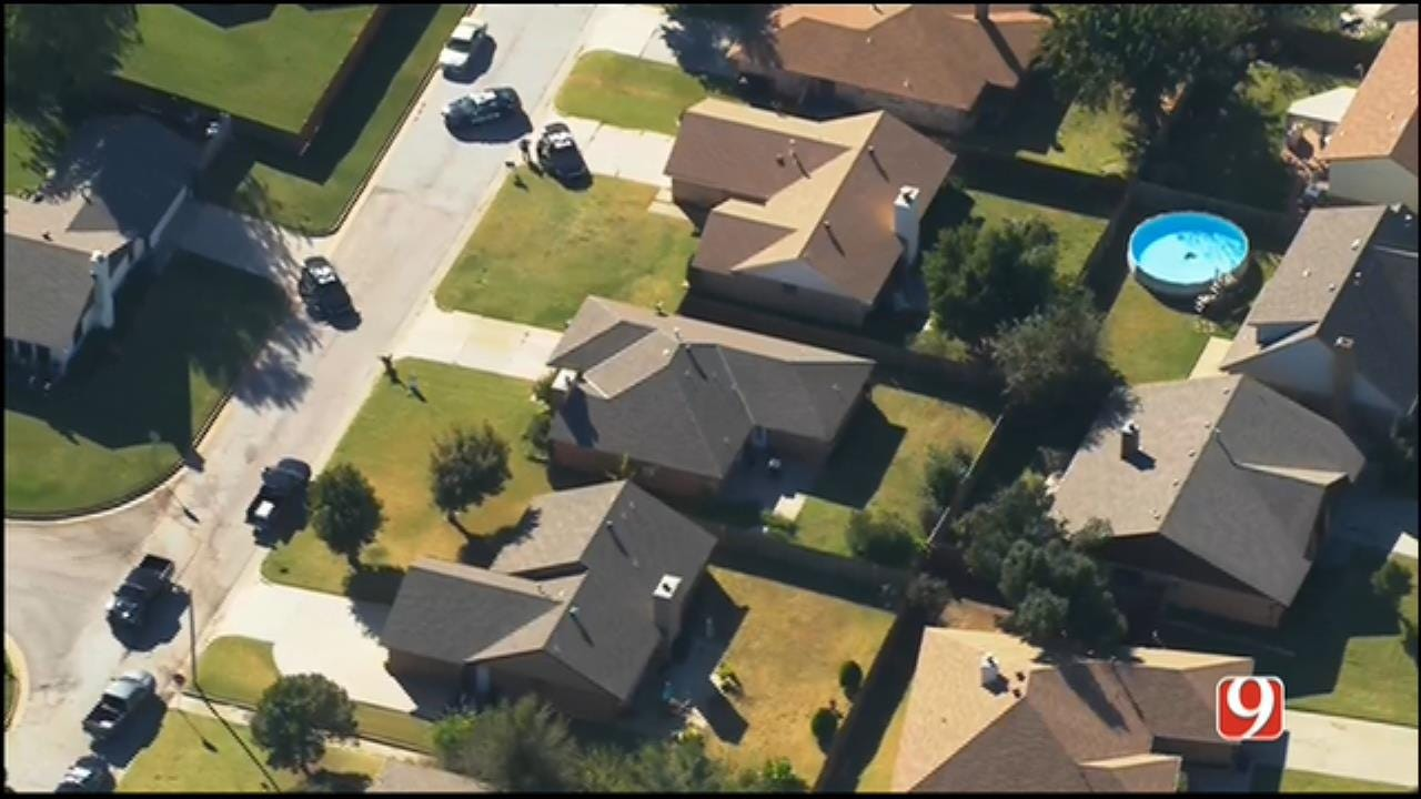 WEB EXTRA: SkyNews 9 Flies Over Standoff Situation In NW OKC
