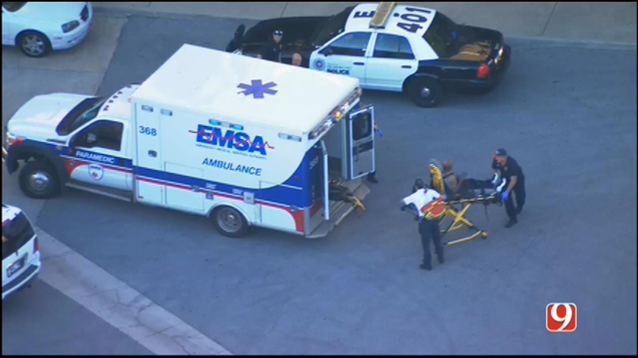 WEB EXTRA: SkyNews 9 Flies Over Stabbing Investigation At Penn Square Mall
