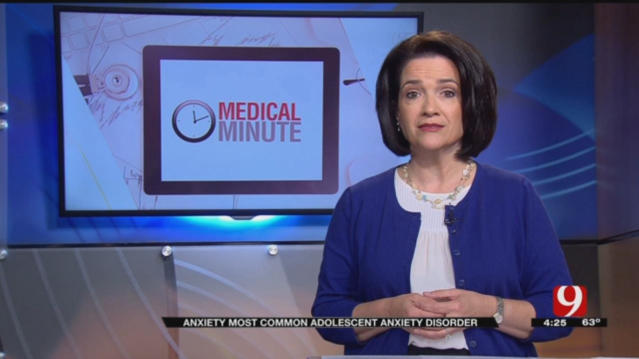 Medical Minute: Adolescent Anxiety Disorder