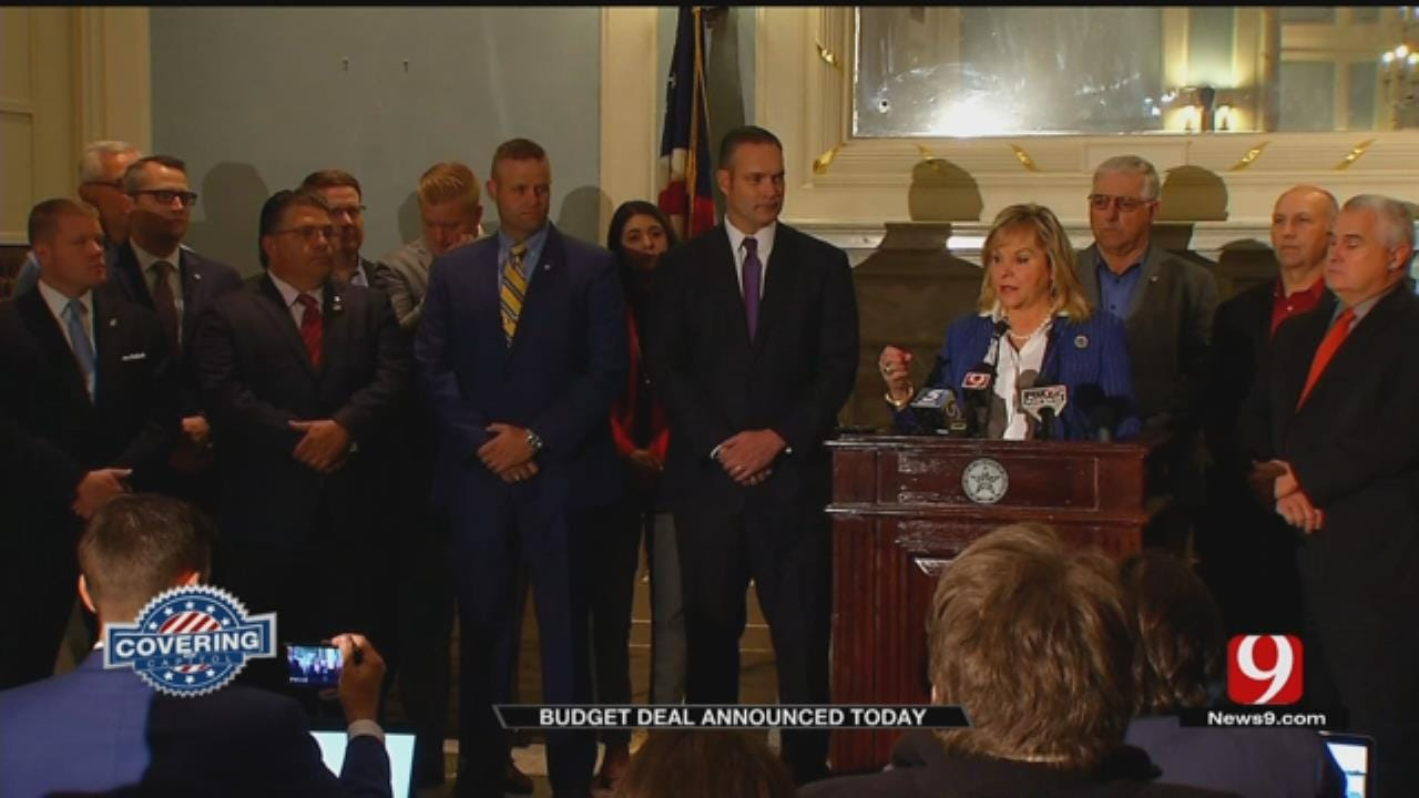 Gov. Fallin, GOP Reach Budget Deal