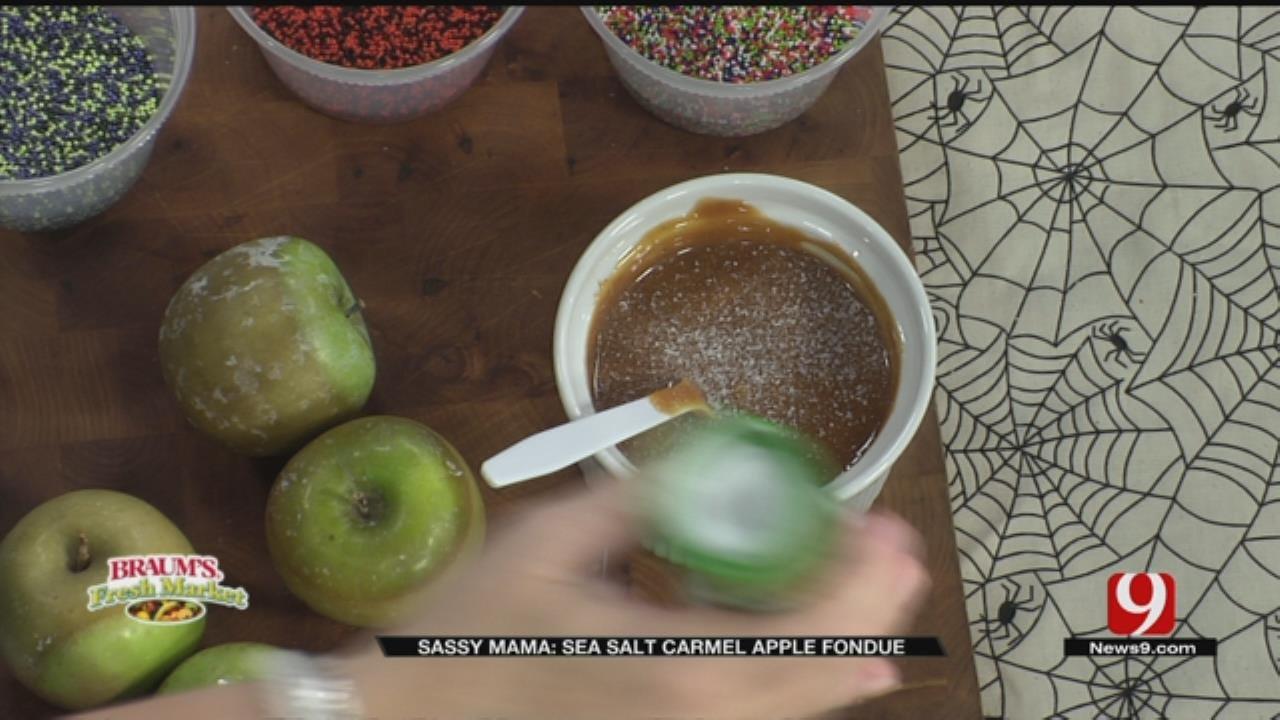 Sea Salt Caramel Apple Fondue