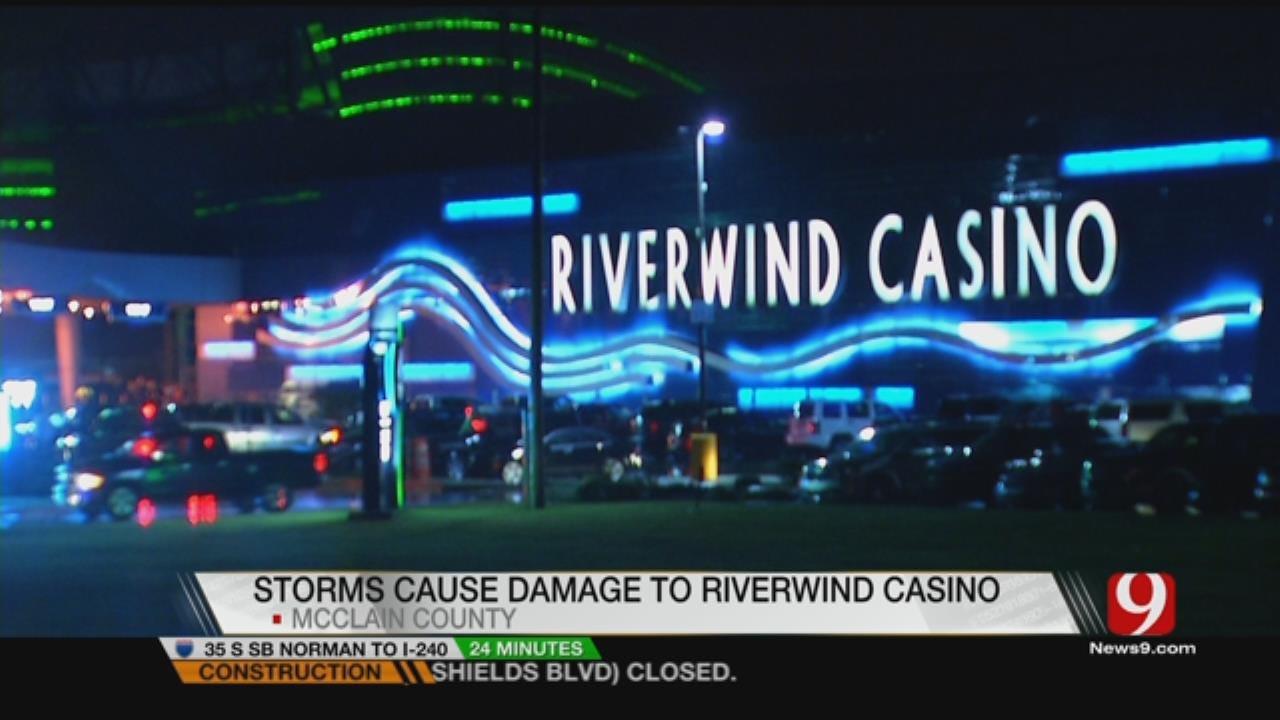 Preliminary EF-1 Tornado Damages Riverwind Casino