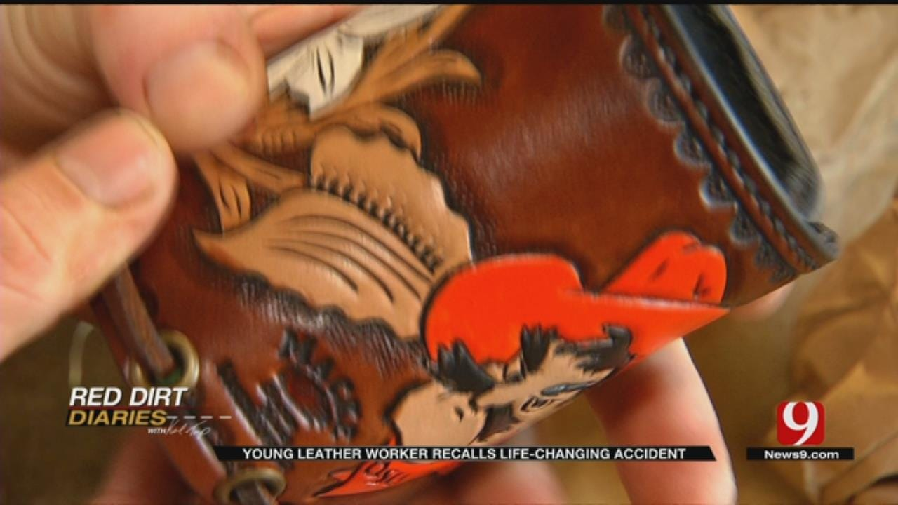 Red Dirt Diaries: Young Leather Worker Recalls Life-Changing Accident