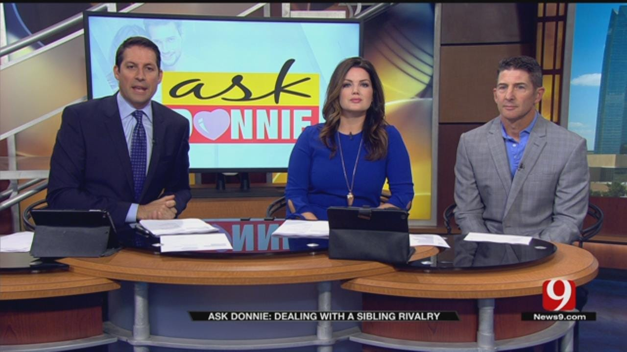 Ask Donnie: Dealing With A Sibling Rivalry