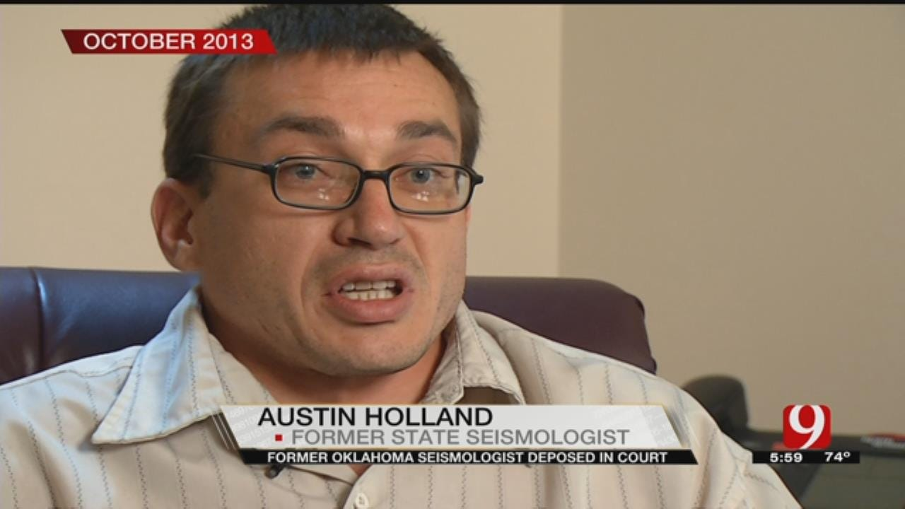 Former Oklahoma Seismologist Deposed In Court